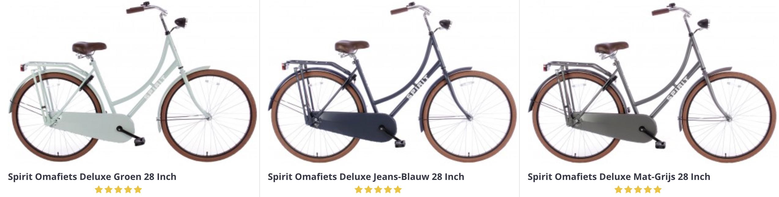 City Bikes-opkomst van de omafiets